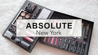 ABSOLUTE NEW YORK Unboxing + One Brand Tutorial | suhaysalim