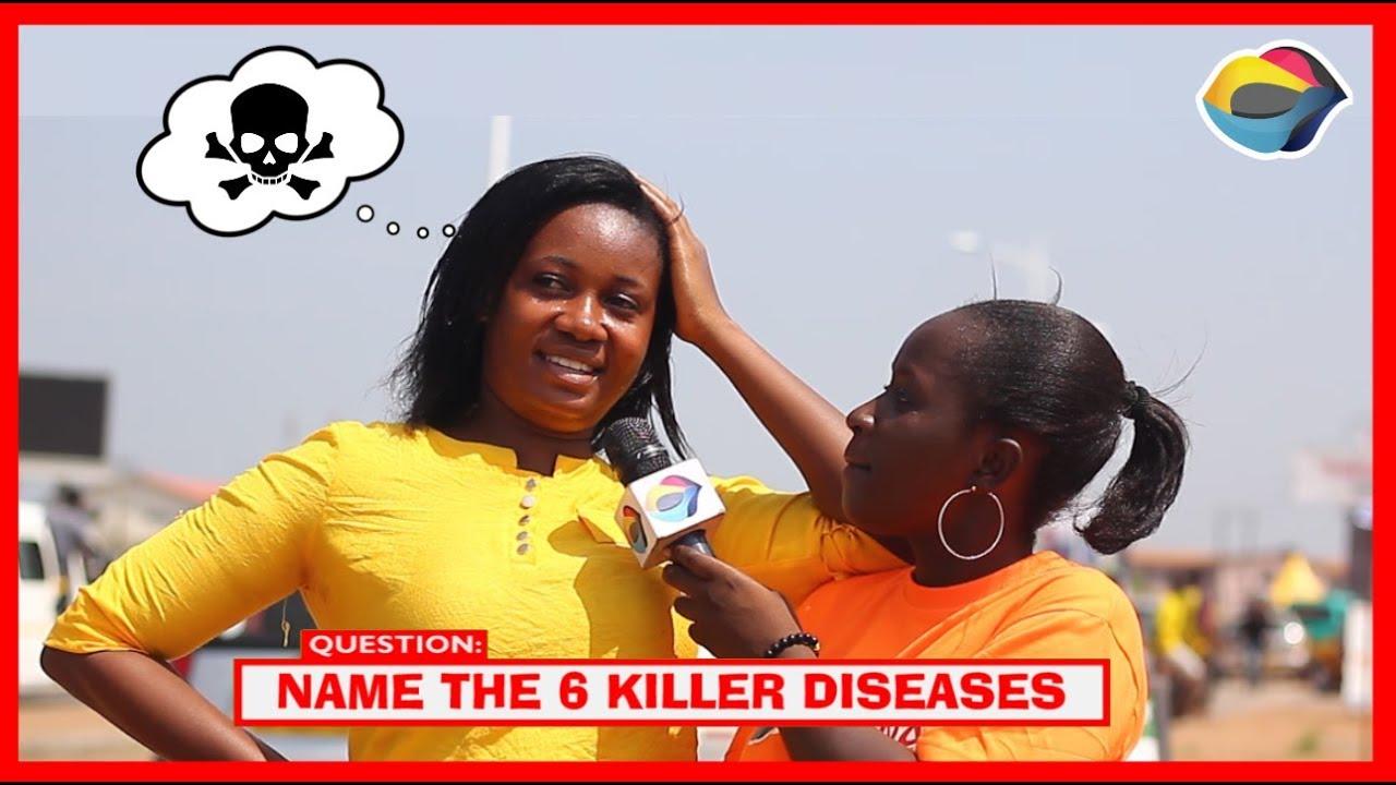 Name the Six Killer Diseases | Street Quiz | Funny Videos ...