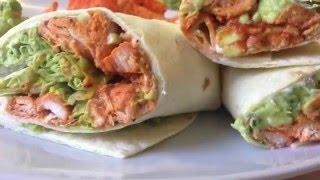 The Ultimate Chicken Tikka Guacamole Wraps Nazkitchenfun