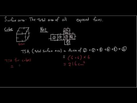 Total Surface Area part 1