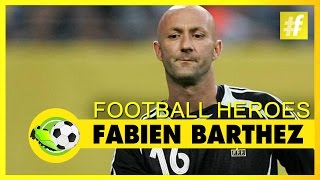Fabien Barthez | Football Heroes | Full Documentary