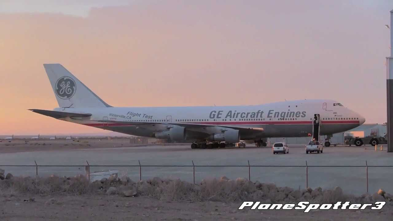 One Of The Oldest 747s Still In Service Ge Engines