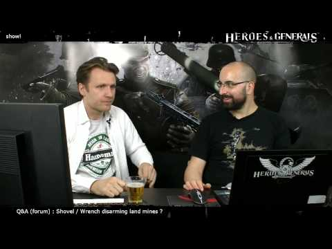 Heroes & Generals Devstream #34: Live from Copenhagen