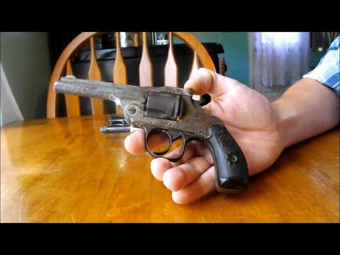Antique Firearms: F&W 1890 Perfection Revolver