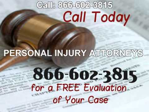 For Personal Injury Attorney CALL 866-602-3815 Acampo CA