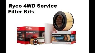 Ryco 4x4 Filter Service Kit RSK37C