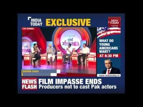 Rahul Kanwal Vs Shiv Sena MP, Arvind Sawant Over Pak Actors