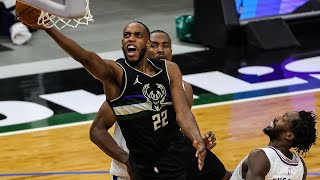 Mic'd Up: Khris Middleton | Bucks Beat Clippers In Thriller At Fiserv Forum