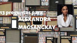 13 preguntas para Alexandra Masangkay