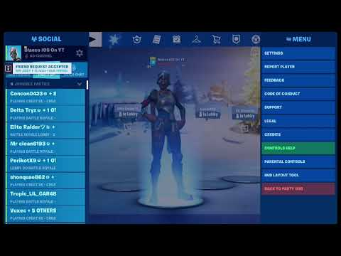 Winter Royale Madness Add me Blanco IOS On YT