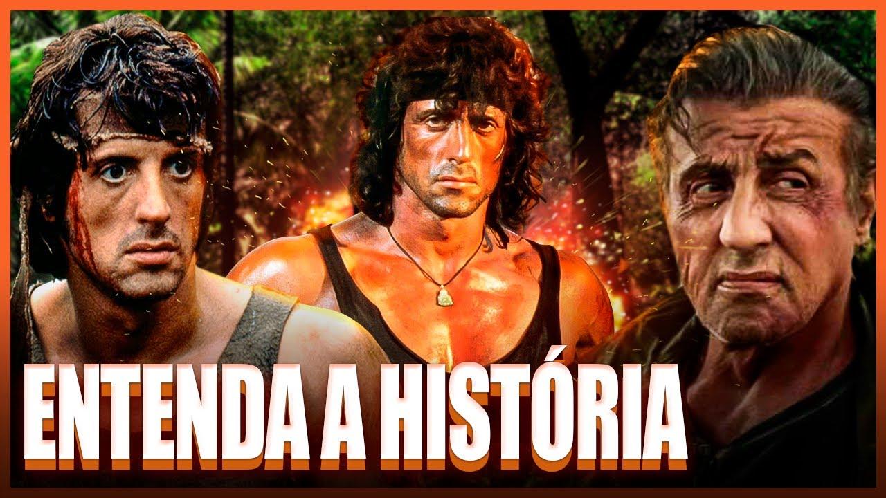 Saga RAMBO | Entenda a História dos Filmes do Rambo