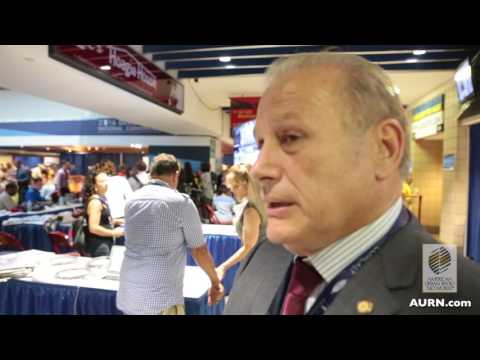 Aish Menon interviews Rocky De La Fuente at the DNC