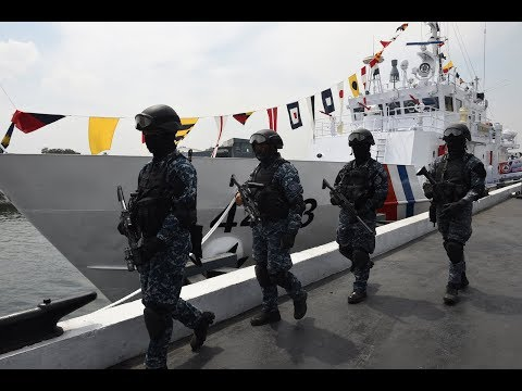 The Philippines welcome India coast guards for conducted a bilateral maritime exercise in Manila