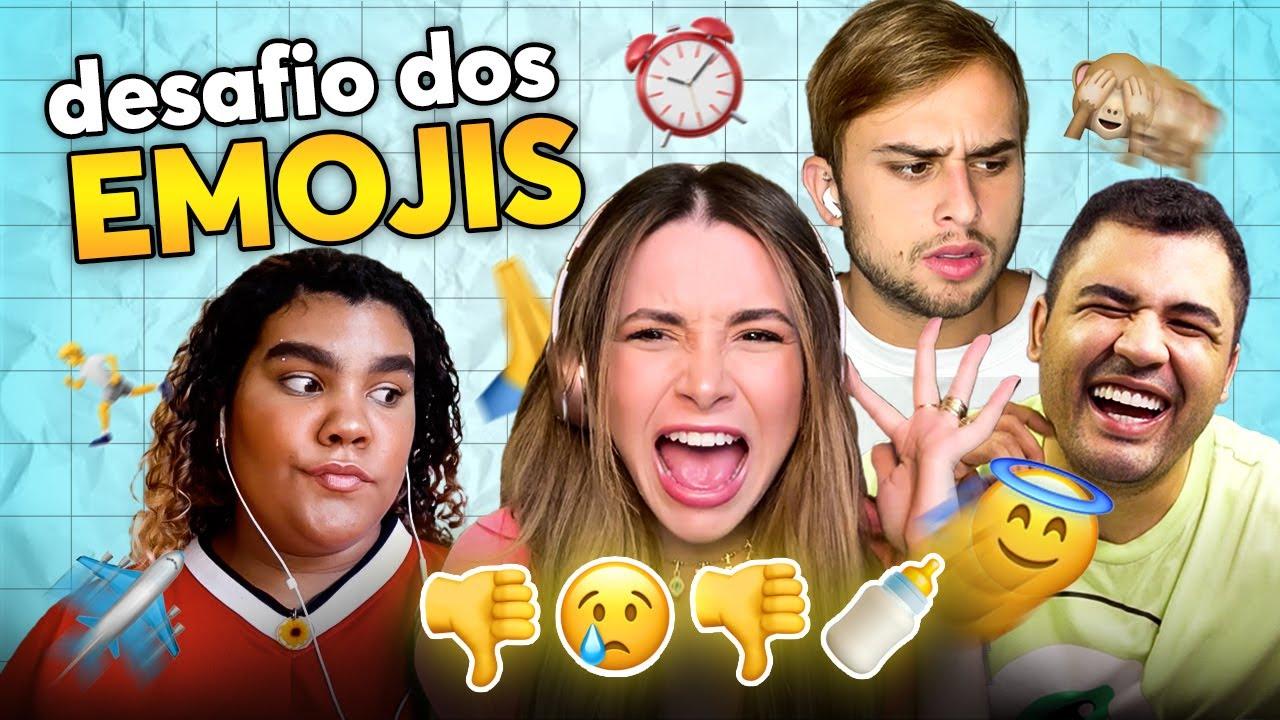 DESAFIO DOS EMOJIS COM DITADOS POPULARES!