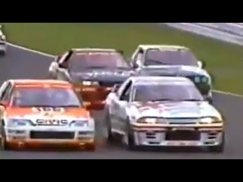 1991 Japan Touringcar Championship & All Japan F3 in TSUKUBA Race de Nippon