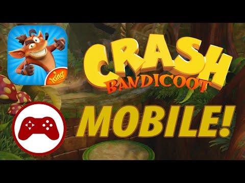 The Crash Cash Grab?! (Crash Bandicoot 2020 On Mobile!)