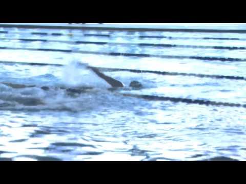 Nebraska swimmer breaks national record