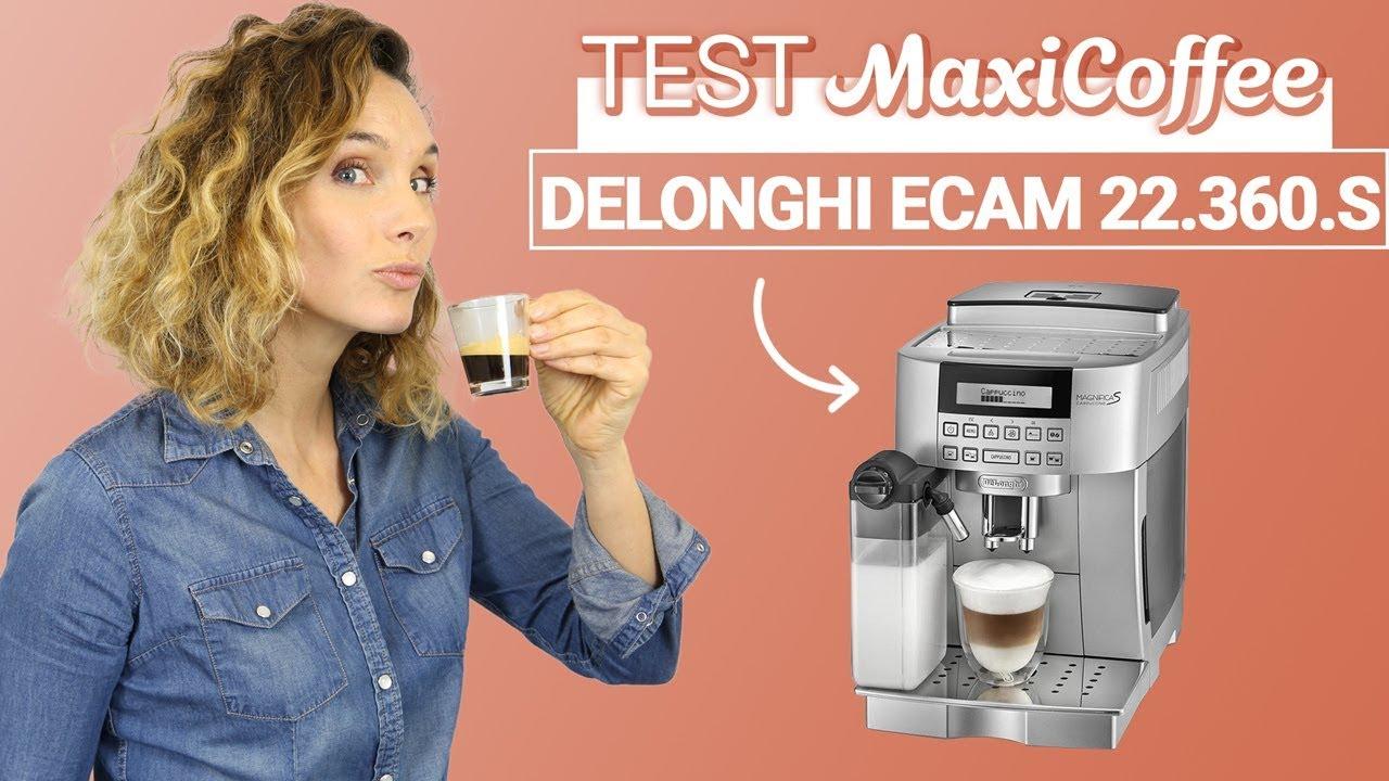 Expresso Broyeur Delonghi Ecam 23.440 Sb delonghi ecam 22 360 s | machine à café automatique | le test maxicoffee