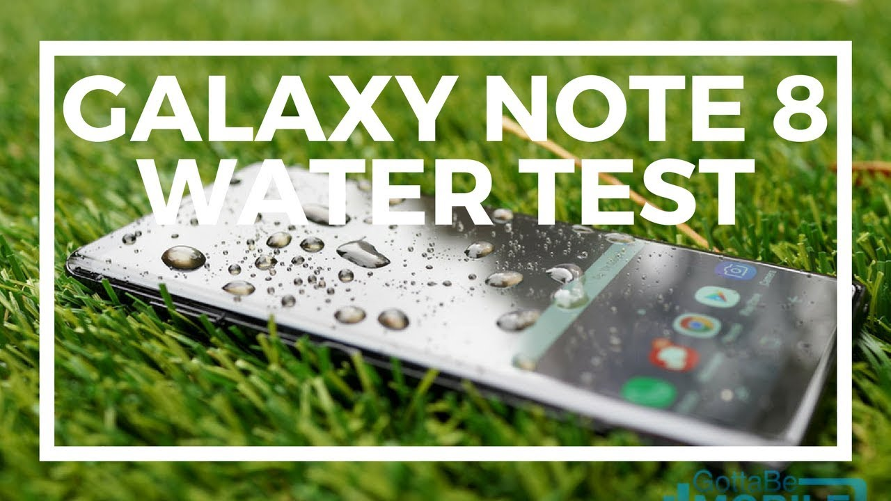 low priced b11ee 33d66 Samsung Galaxy Note 8 Waterproof Demo