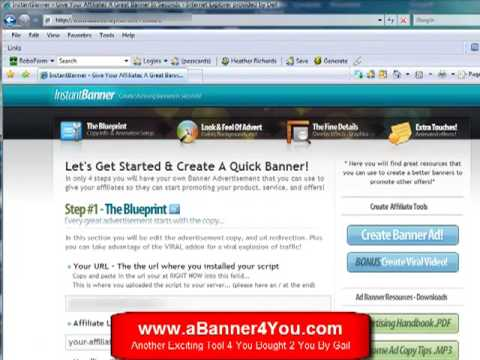 How to Make a Banner [Photoshop CS5 Tutorial] - Banner and