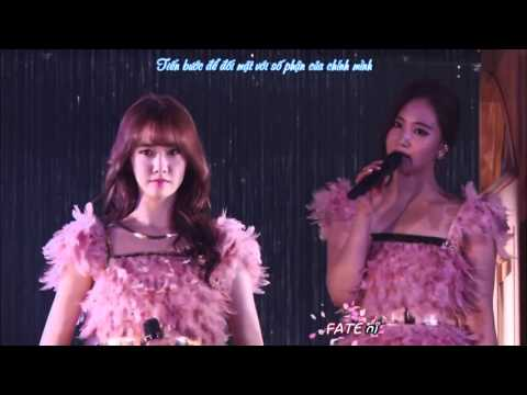 Vietsub+Kara SNSD   Divine  Live at Tokyo Dome
