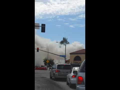 Fire in Cupertino June 11 2106