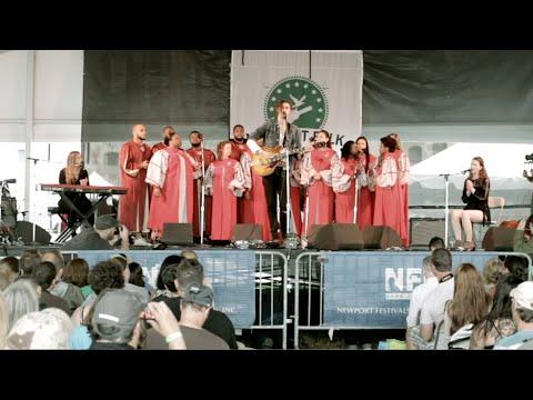 """BEHIND THE WALLS ~ Hozier, """"Work Song"""" ~ Newport Folk Fest 2014"""