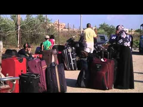 6059 PALESTINIANS-EGYPT-GAZA