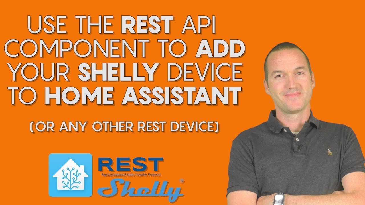 Use the REST Component to Add A Shelly Switch To Home Assistant – The