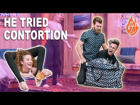I TAUGHT RHETT AND LINK CONTORTION (GOOD MYTHICAL MORNING)