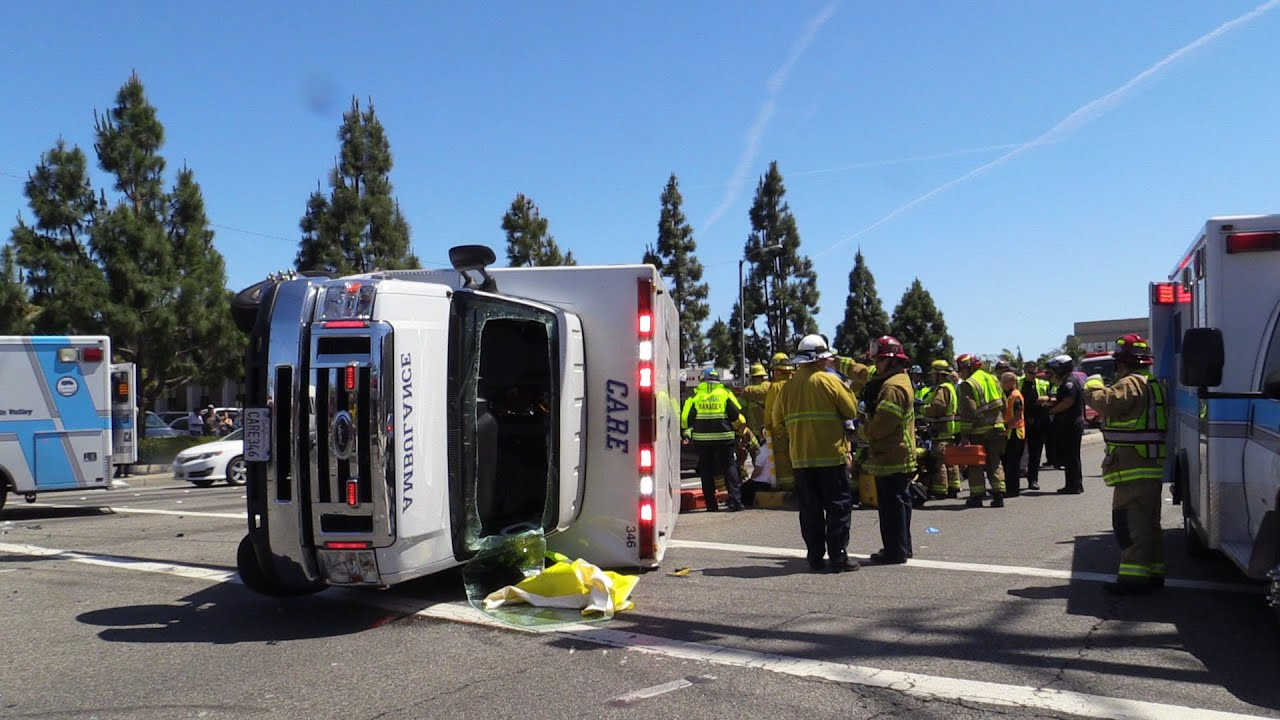 mass casualty ambulance crash