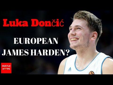 2018 NBA Draft Prospect | Luka Doncic | European James Harden? | Hustle Hoops