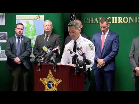 News Conference - Operation Up In Smoke