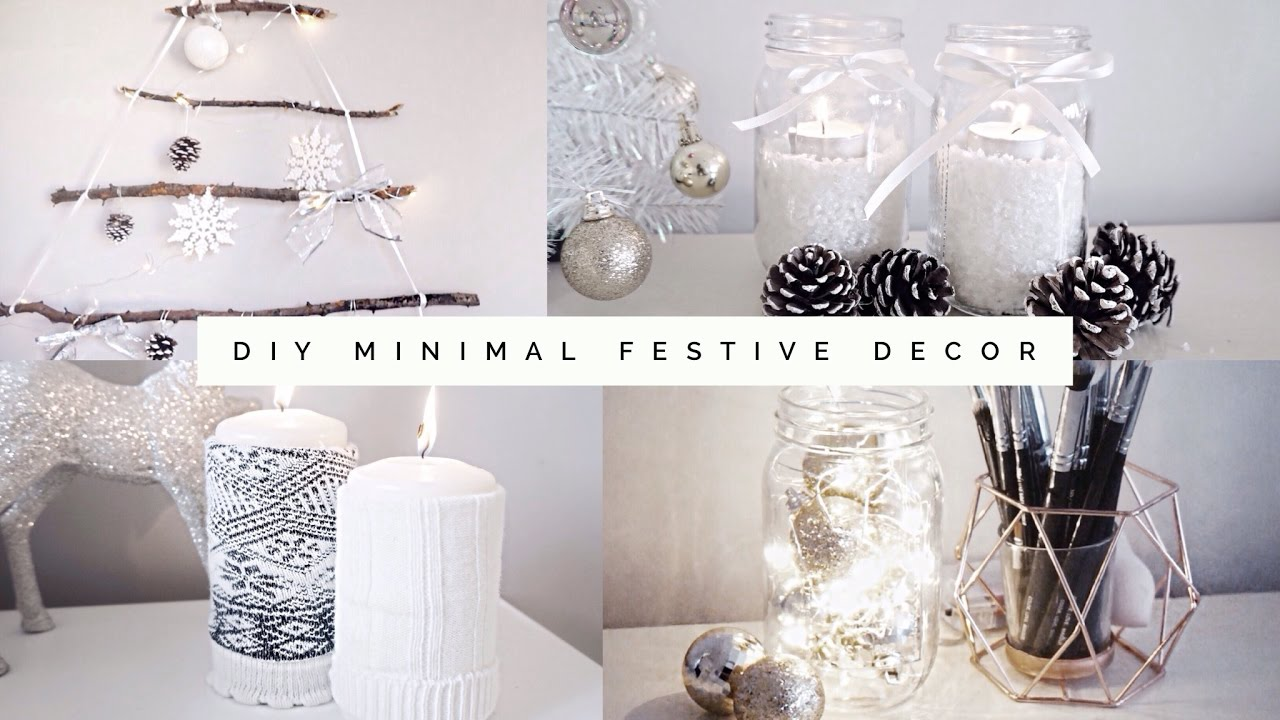 diy minimal aesthetic festive room decor 2016 pinterest