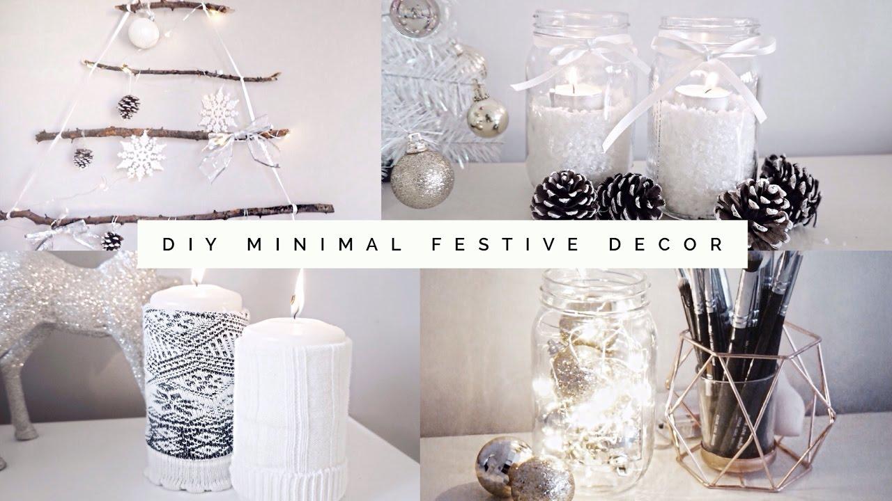 DIY Minimal, Aesthetic Festive Room Decor 2016   Pinterest ... on Room Decor Aesthetic id=21718