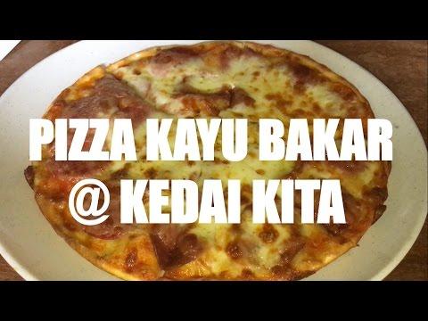 Makanan Hits, Populer dan Banyak Dicari di Bogor | Pizza Kayu Bakar @ Kedai Kita | Food Vlog