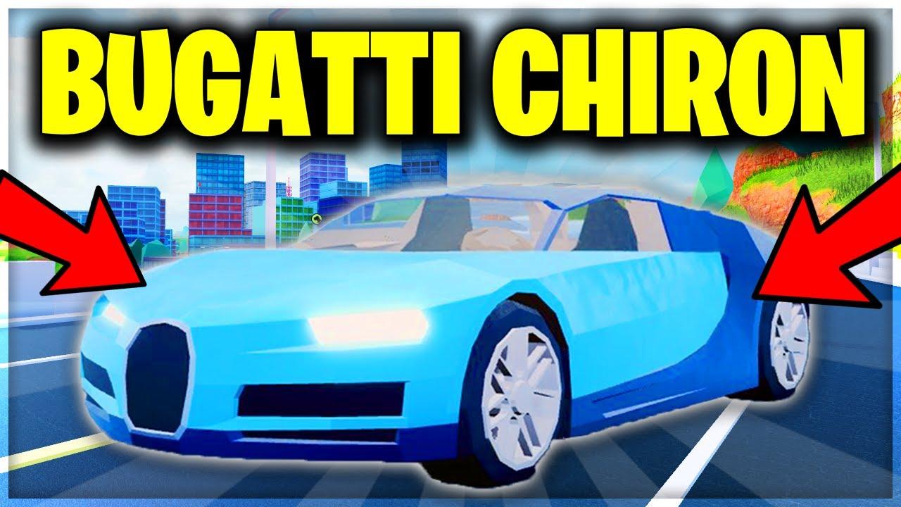 Full Guide Roblox Jailbreak Bugatti Chiron Update New Weapons