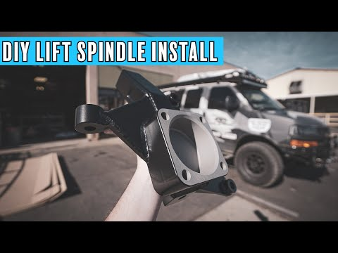 DIY Spindle Lift Install | Chevy Express Van Lift