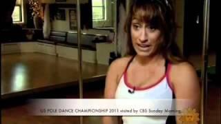 US POLE DANCE CHAMPIONSHIP 2011 CBS Sunday Morning 5-1-2011
