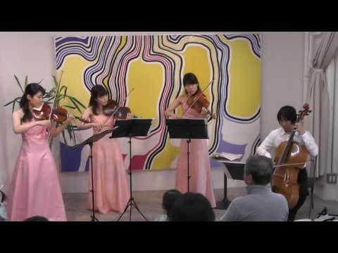 TGS  ファミリーコンサート2016  第1部  10  ドヴォルジャーク  弦楽四重奏曲「アメリカ」より第4楽章