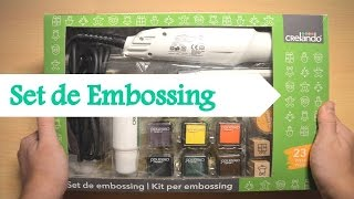 Unboxing y Review del Set de Embossing de Lidl