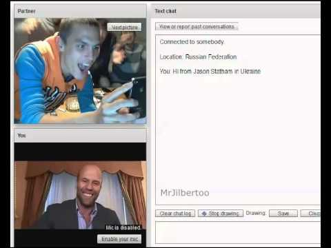 Jason Statham in chatroulette \