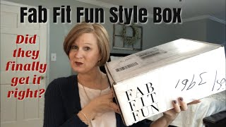 Fab Fit Fun Style / Could This FINALLY Be My Box? / Try-on