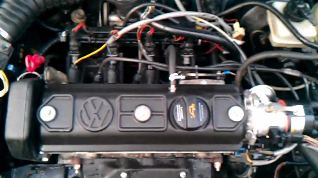 Polo 86c NZ Motor - YouTube