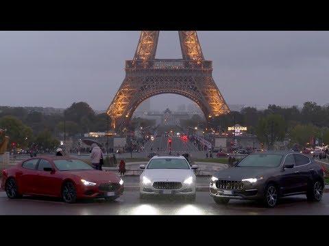 2019 Maserati Range Media Driving Experience - La Grande Route Paris-Monaco