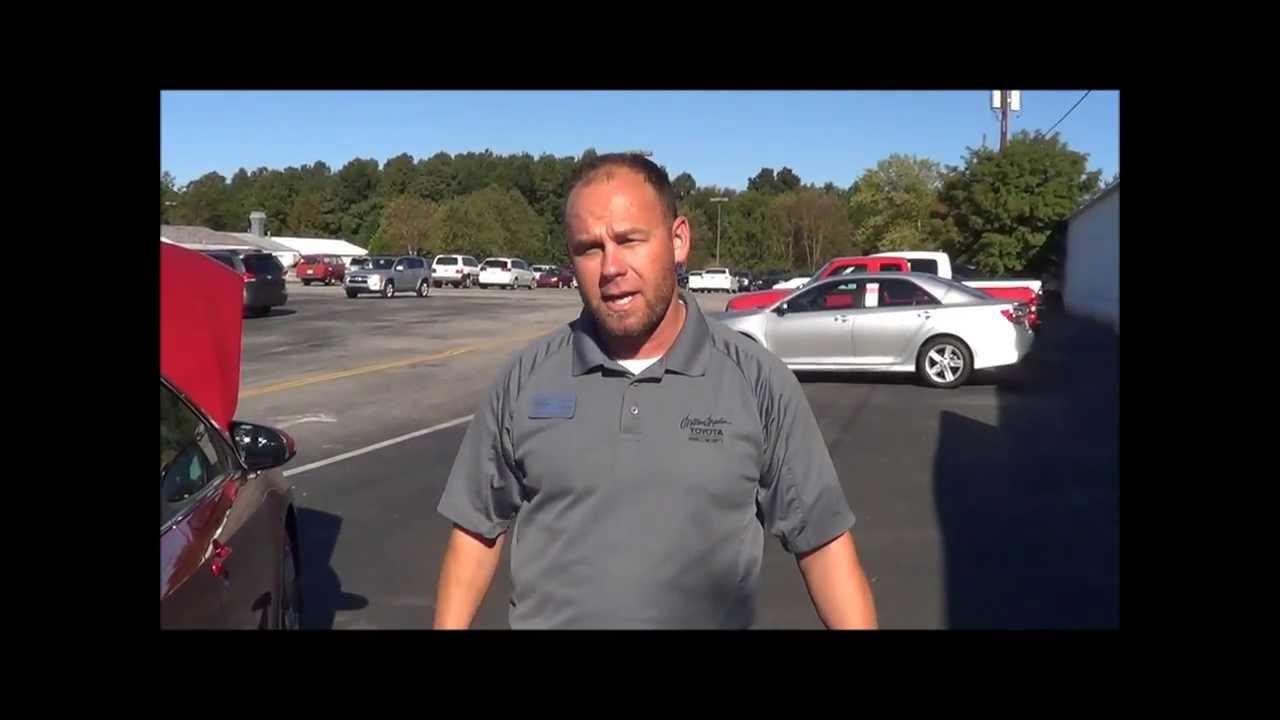 Johnny Pridgen 2014 Toyota Camry Milton Martin Toyota