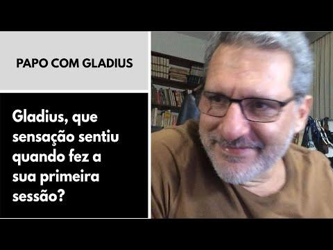 119/04 - Gladius, que sensação sentiu quando fez a sua primeira sessão