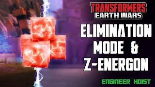 Transformers: Earth Wars - Elimination Mode and Z-Energon
