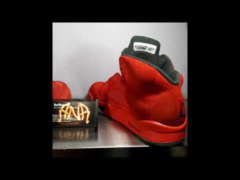 Restore Re dying Jordan 5 red suede and Redpaint Jordan 12 FluGame