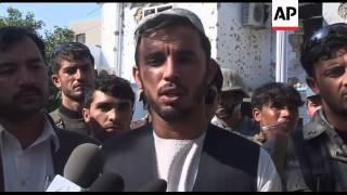 GRAPHIC+ Suicide truck bomb attack near UN office kills five